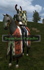 Swadian paladin