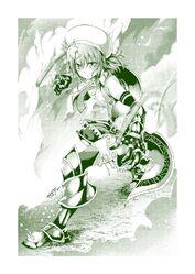 Saboten fanart 1 by Kuno Touya