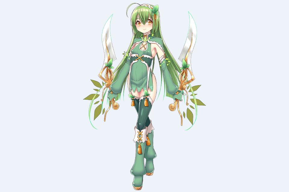Mint Flower Knight Girl Wikia Fandom Powered By Wikia