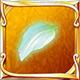 Lily wood petal icon