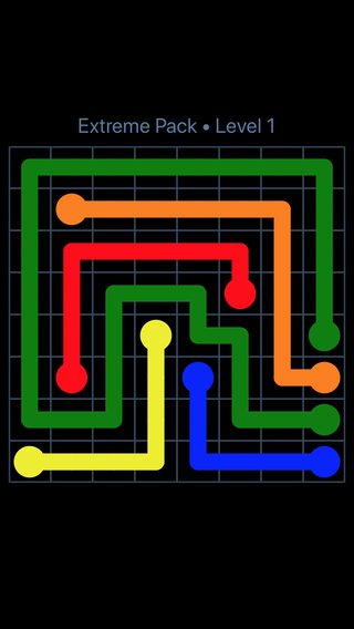 27+ Flow Free Extreme Pack 11X11 Level 26 PNG