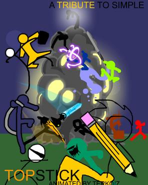 Topstick fan made poster by balistiik-d4fkuwn