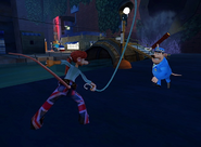 Flushed Away Video Game Rita Fighting