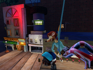 Flushed Away Video Game Rita Screenshot 2