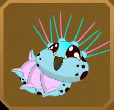 Sky-blue Hairstreak§Caterpillar