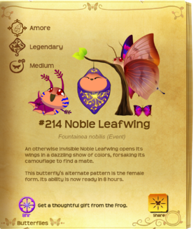Noble Leafwing§Flutterpedia Upgraded