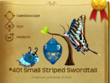 Small Striped Swordtail