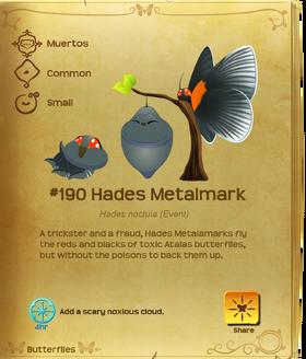 Hades Metalmark§Flutterpedia