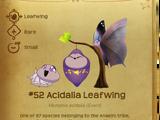 Acidalia Leafwing