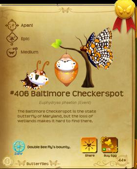 Baltimore Checkerspot§Flutterpedia