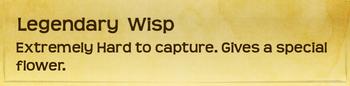 Banner§Wisp Legendary