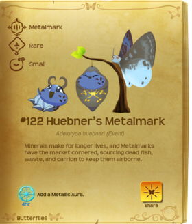 Huebner's Metalmark§Flutterpedia