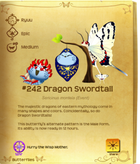 Dragon Swordtail§Flutterpedia UpgradedAlt