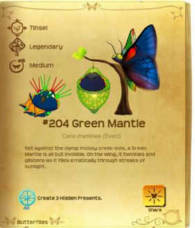 Green Mantle§Flutterpedia