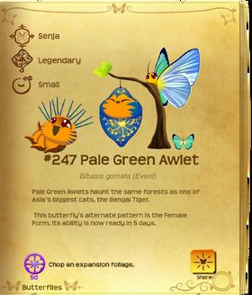 Pale Green Awlet§Flutterpedia UpgradedAlt