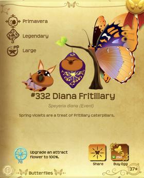 Diana Fritillary§Flutterpedia