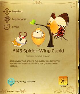 Spider-Wing Cupid§Flutterpedia