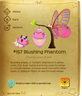 Blushing Phantom§Flutterpedia