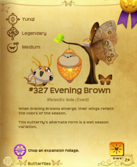 Evening Brown§Flutterpedia UpgradedAlt