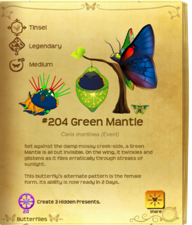 Green Mantle§Flutterpedia Upgraded