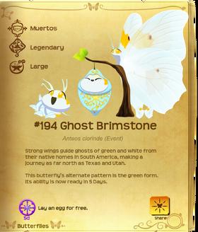Ghost Brimstone§Flutterpedia Upgraded
