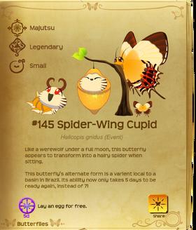 Spider-Wing Cupid§Flutterpedia Upgraded