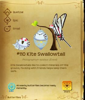 Kite Swallowtail§Flutterpedia