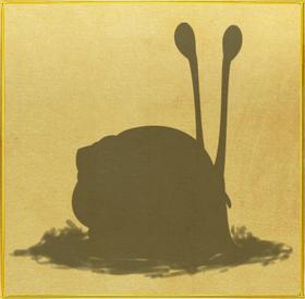 Florida Tree Snail§Silhouette