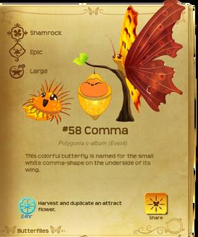 Comma§Flutterpedia
