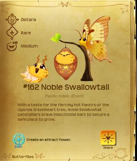Noble Swallowtail§Flutterpedia