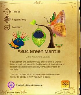 Green Mantle§Flutterpedia UpgradedAlt