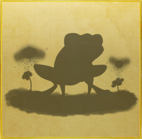 Strawberry Poison Dart Frog§Silhouette