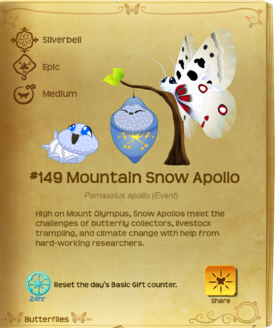Mountain Snow Apollo§Flutterpedia