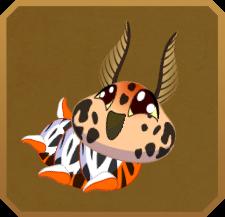 Virgin Tiger Moth§Caterpillar