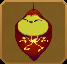 Hummingbird Clearwing§Pupa