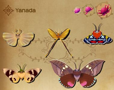 Yanada Set§Flutterpedia