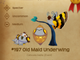 Old Maid Underwing