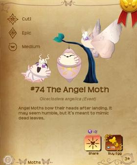 The Angel Moth§Flutterpedia