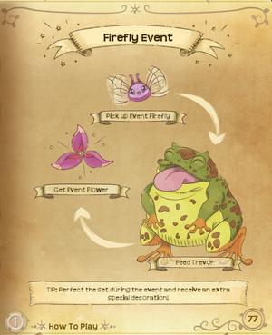 Flutterpedia FireflyEvent