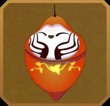 Lygodium Spider Moth§Pupa