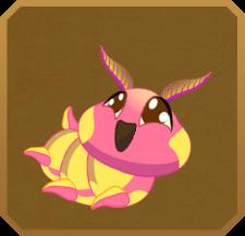 Rosy Maple Moth§Caterpillar