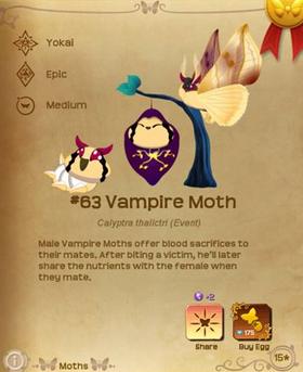 Vampire Moth§Flutterpedia