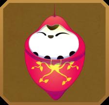 Roseate Emperor§Pupa