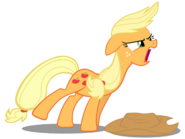 Applejack yelling