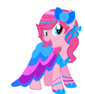 Pinkie pie gala dress by sparkle bubba-d5lwgsa