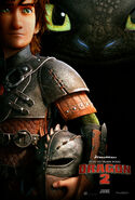 Httyd2 promotional Toothless image