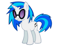 Vinyl scratch vector by ikillyou121-d4hd83g