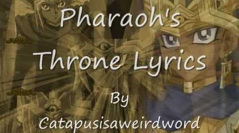 Pharaoh's Throne Lyrics.-1