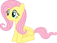 Fluttershy sitting by sulyo-d57462a