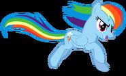 Rainbow Dash running
